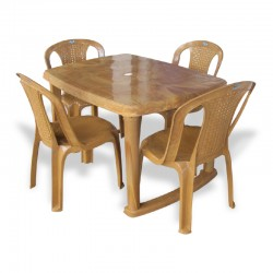 NASTNE- REC TABLE + 4 CHAIRS