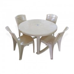 NASTLO-Round Table + 4 chairs