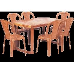 ARIZONA- TABLE+ 6 CHAIRS