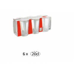 AX52752-Glass Doro 6pcs 265931