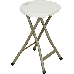 LZ30 - Folding Rnd Stool...