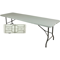 LZ244 - Rect Folded Table...