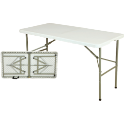 LZ122 - Rect Folded Table...